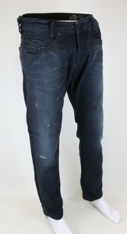 Diesel Akee Wash 0683q Stretch Herren Jeans Hose Pants Slim Tapered Wählbar