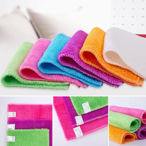 küchentücher reinigen pad putzlappen haushalt anti fett waschen bambus