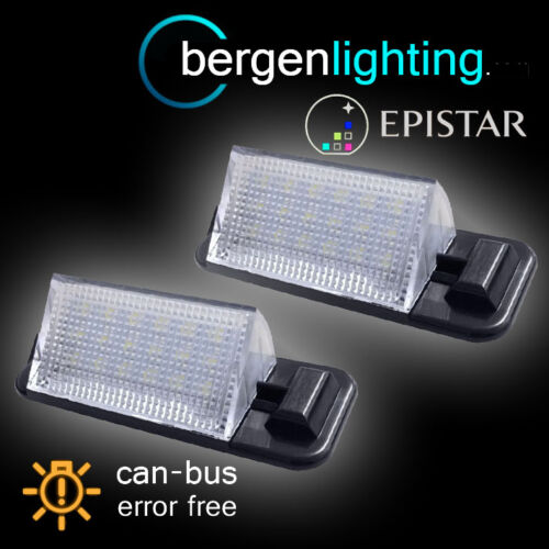 FOR BMW 3 SERIES E36 1992-1998 18 LED NUMBER PLATE LIGHT LAMP PAIR