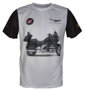 Gold Wing Motorcycle T shirt Biker Honda Goldwing