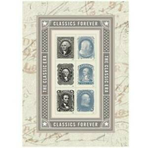 AUTHENTIC-Scott-5079-Classics-Forever-Souvenir-Sheet-Mint-Never-Hinged-MNH