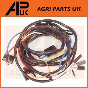 Pleasing Massey Ferguson 135 Tractor Wire Wiring Harness Loom Alternator Type Wiring Cloud Hisonuggs Outletorg