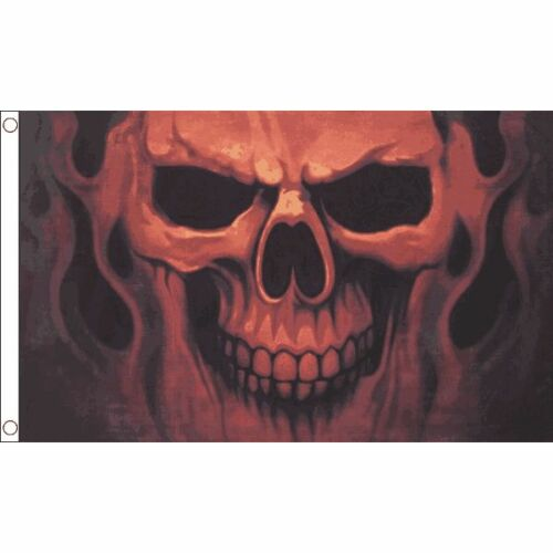 Pirate Flag 100/% Polyester With Eyelets Skull Ghost Flag 5 x 3 FT