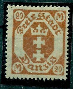 Wappen-von-Danzig-Nr-126-YF-postfrisch-geprueft-BPP