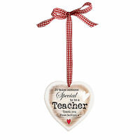 PERSONALISED END OF TERM / CHRISTMAS GIFT IDEA for a SPECIAL TEACHER bauble sign