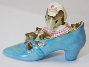Beswick Beatrix Potter la anciana que vivía en un zapato artículo impresionante!!!!!!