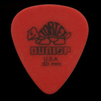 Dunlop Tortex Standard Guitar Picks Red 0.50mm - In Packs Of 6 10 12 20 or 24