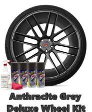 Plasti Dip True Metallic Anthracite Grey Deluxe Wheel Kit Coating Spray Cans
