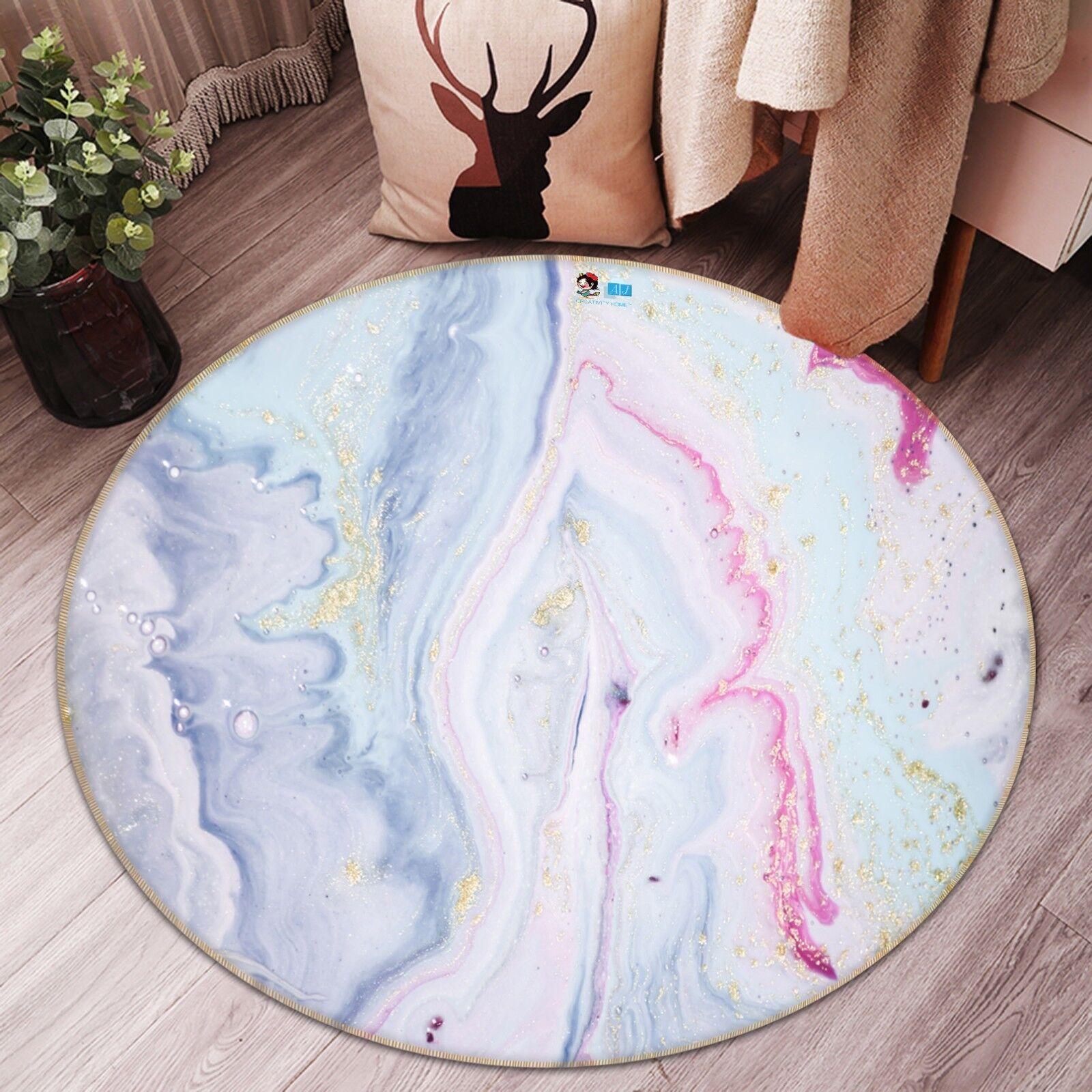 3D Bunte Kunst Malerei 7 Rutschfest Teppich Raum Raum Raum Matte Runden Elegant Teppich DE 38f02e