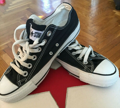 Converse ALL STAR (1980') Made in USA! (6½) Black!