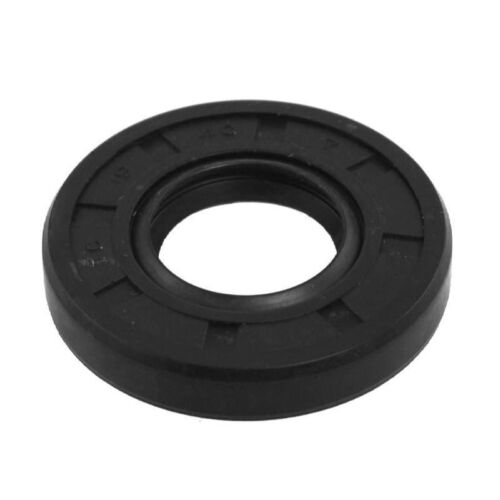 "Oil and Grease Seal 2.283""x 3.543""x 0.512"" Inch Rubber Covered Double Lip wGart"