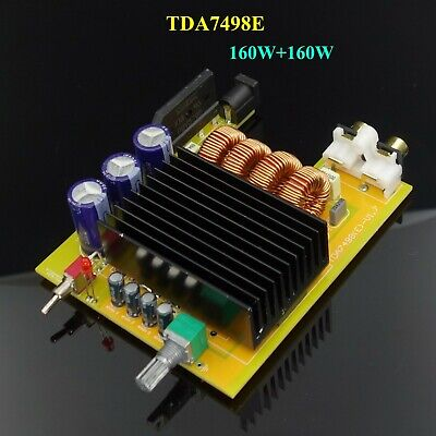 TDA7498E 160W*2  Audio Digital Power Amplifier Board Mini Stereo 2 Channel Amp