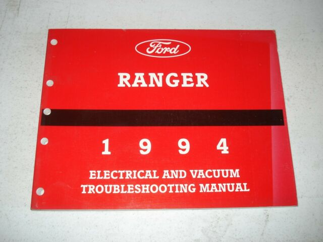 1994 Ford Ranger Electrical  U0026 Vacuum Service Manual Wiring