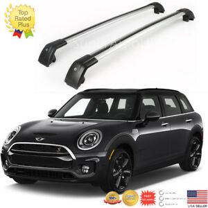 Top Roof Rack Fit For 2016 2018 Mini Clubman Baggage Luggage Cross Bar