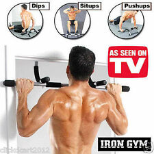 Iron Gym Total Upper Body Fitness Exercise Workout Bar