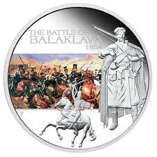 Tuvalu 2009 $1 - Schlacht von Balaklawa - 1 Oz Silber