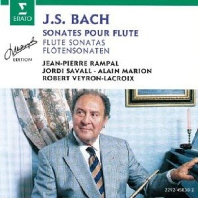 RAMPAL/SAVALL/MARION/+ - SON.BWV 1013/+  CD KLASSIK KONZERT NEU BACH