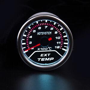 CAR-2-034-52mm-EXT-Exhaust-Gas-Temperature-Temp-Gauge-EGT-Meter-Sensor-AU