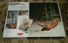 Vintage HMS Victory MANTUA Wood 1/200 Model Ship Kit 764 Battle of Trafalgar