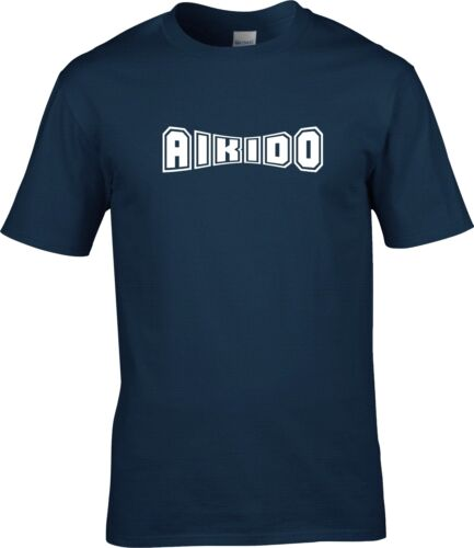 Aïkido arts martiaux T Shirt Entraînement adulte