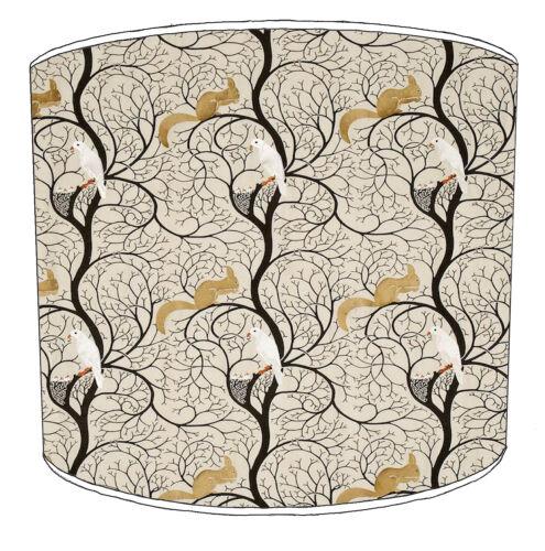 Squirrel Designs Lampshades Ideal To Match Squirrel Cushion /& Squirrel Wallpaper