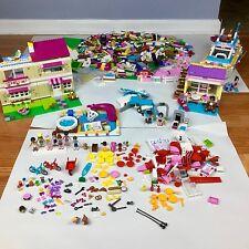 LEGO FRIENDS HUGE LOT Minifigures Dolphin Cruiser 41015 Olivia's House 3315 9LBS