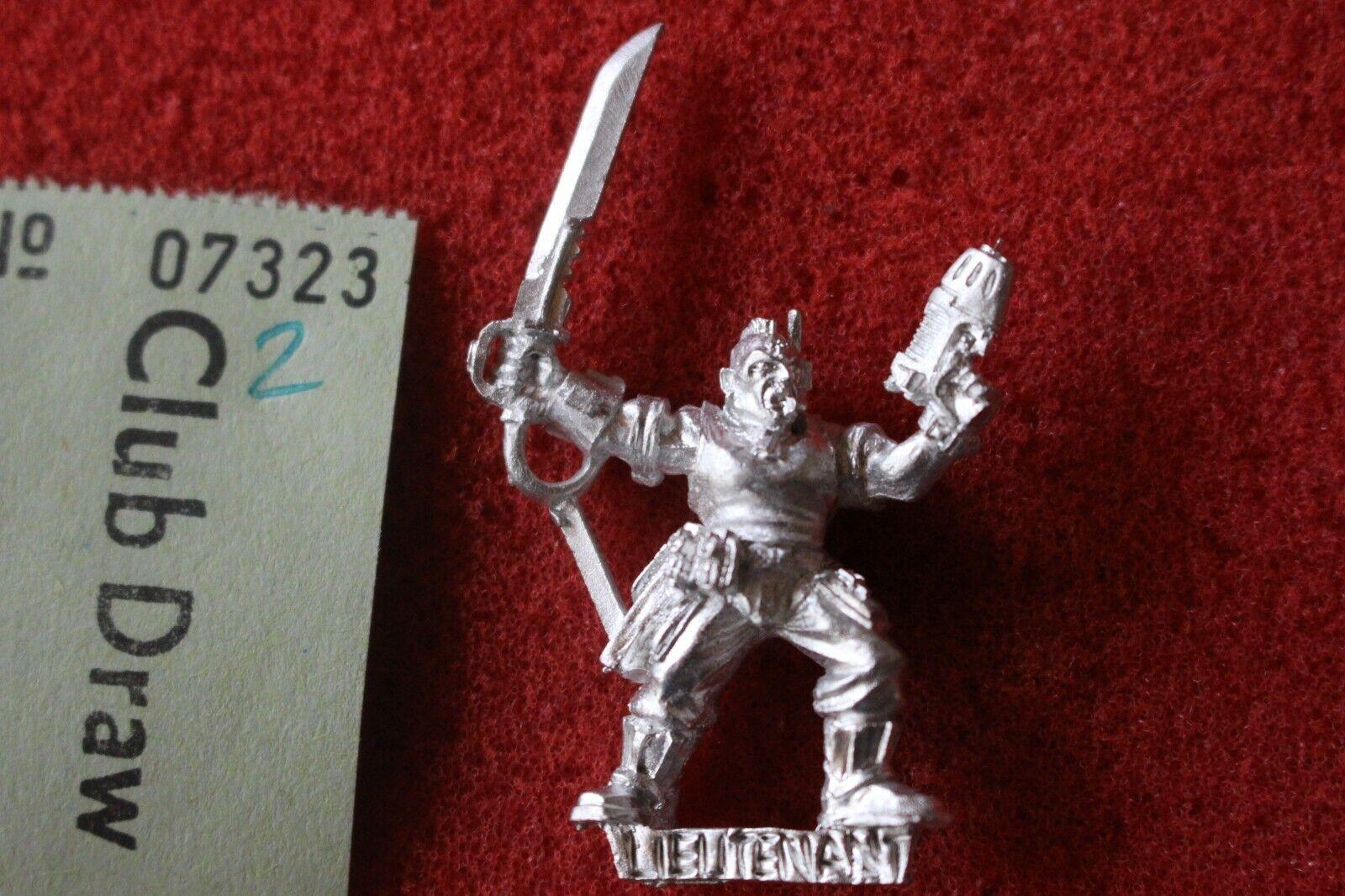 Games Workshop Warhammer 40k Catachan Officer Lieutenant Sergeant Metal New B2