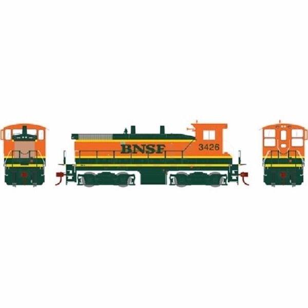 BNSF SW1500 RTR Locomotive  3426 DCC Ready HO - Athearn  ATH98127