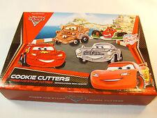 Williams Sonoma Disney Pixar Cars Set of 4 Cookie Cutters -New