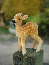 OLD STEIFF FAWN YOUNG DEER 1950's-1960's, velvet skin beautifully marked