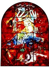 Marc Chagall offset lithograph paris maeght 1960 original  windows Judah