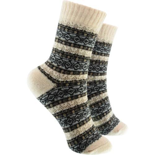 cosey dicke Socken – Winter beige 6 Paar Baumwolle atmungsaktiv weich 40-45