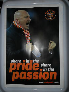 BLACKPOOL FOOTBALL CLUB SHARE IN THE PRIDE SHARE THE PASSION PROGRAMME HOLLOWAY - Bolton, Greater Manchester, United Kingdom - BLACKPOOL FOOTBALL CLUB SHARE IN THE PRIDE SHARE THE PASSION PROGRAMME HOLLOWAY - Bolton, Greater Manchester, United Kingdom
