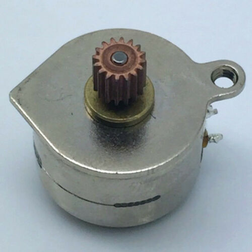 15BY25 Mini 15mm Round 2-Phase 4-Wire Stepper Motor Stepping Motor Copper Gear