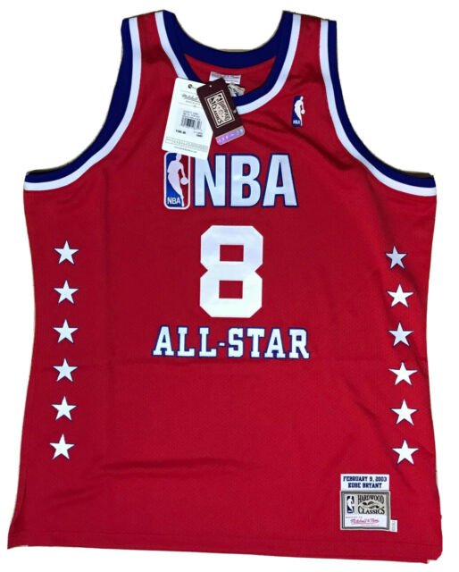 NBA2003 All Star 8 Kobe Bryant Los Angeles Lakers Jersey 03 all star vest