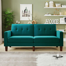 Foldable Twin Size Futon Sofa Bed Couch Sleeper Convertible Foldable Loveseat US