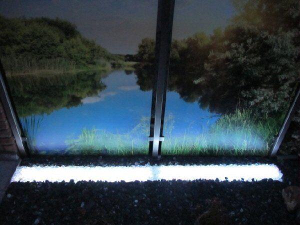 Gabionen Leuchte LED 360° 1,00 m kaltweiss - 6901