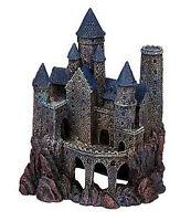 Penn-plax Age Of Magic Wizard's Castle, Large. Aqaurium Ornament Decoration