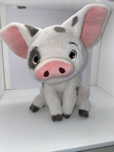 "New Disney Store Moana Pua Pig 13"" Plush Toy Doll Medium"