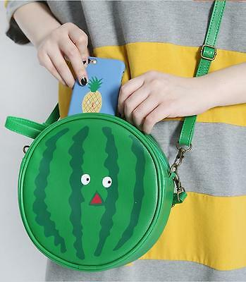 Cute Harajuku Green Watermelon  Messager Shoulder Bag Cosmeti Yummy Vintage 2015