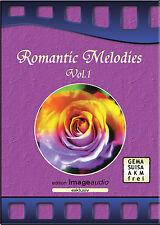 ROMANTIC MELODIES - GEMAFREIE MUSIK CD - ROYALTY FREE AKM FREI VERTONUNG