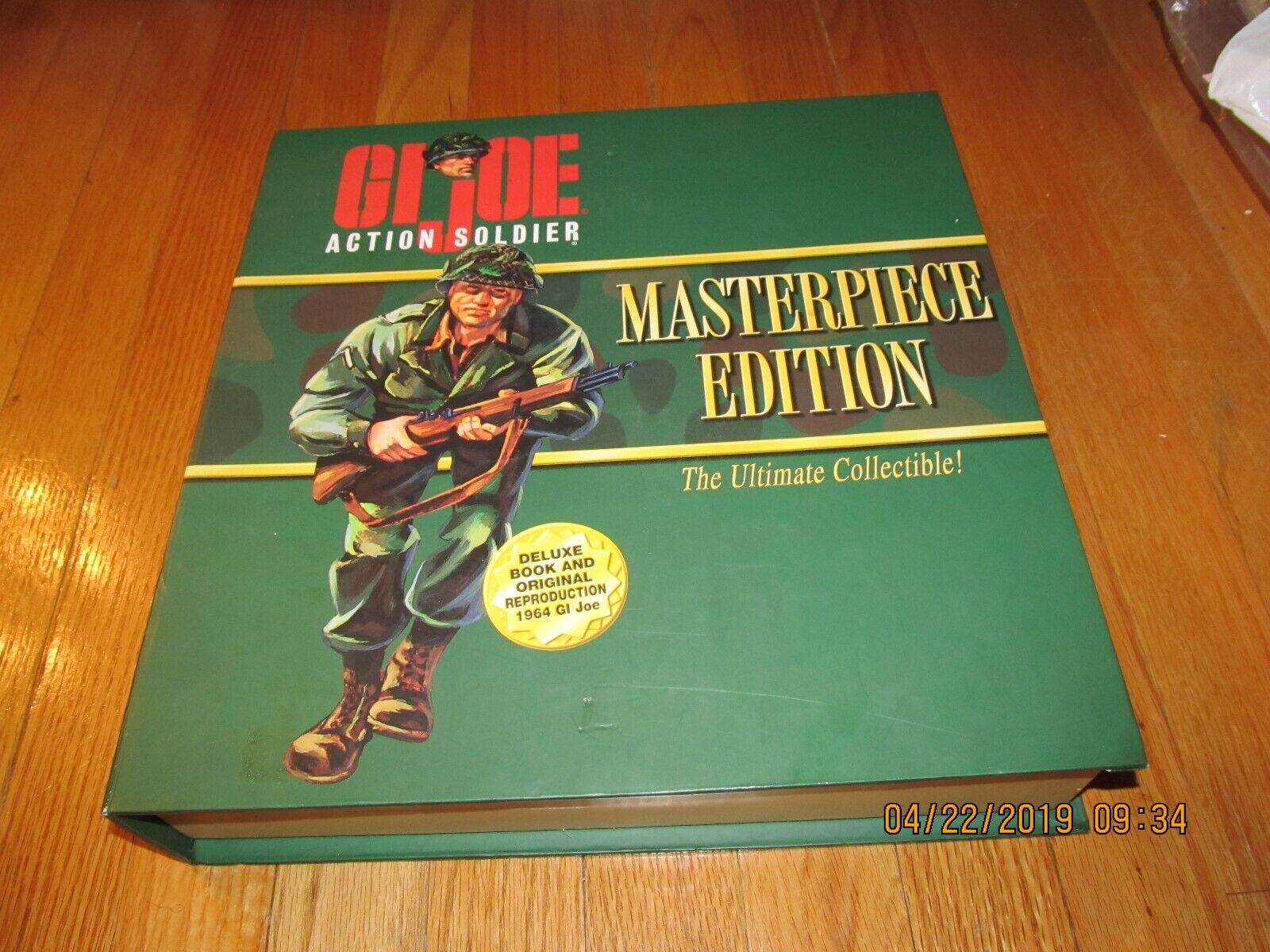 NEW 1996 GI JOE ACTION SOLDIER MASTERPIECE EDITION VOL 1 - BOOK & REPRO 1964