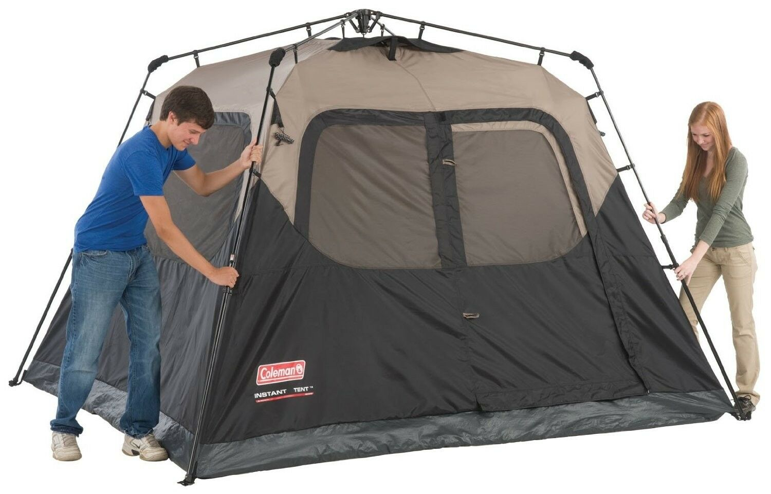 COLEMAN 6 PERSON INSTANT TENT CAMPING WATERPROOF WEATHERTEC CAMPING OUTDOOR NEW