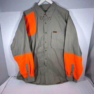 Gander-Mountain-Shooting-Shirt-Men-039-s-2XL-Guide-Series-GS-Long-Sleeve