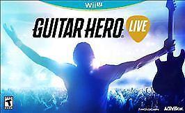 Guitar Hero Live Bundle (Nintendo Wii U, 2015) Brand New