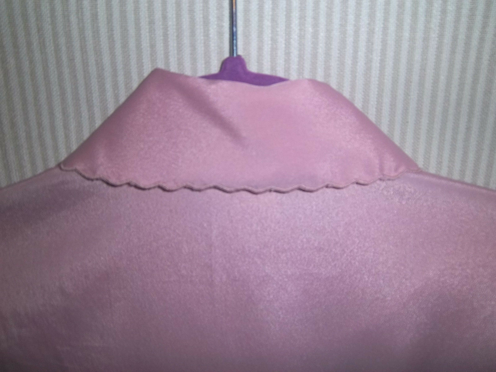 Vintage 1980's Christian Dior Size S Lilac Night … - image 6