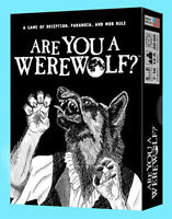 Are You A Werewolf? Card Game Box Party Board Looney Labs Loo-019 Halloween