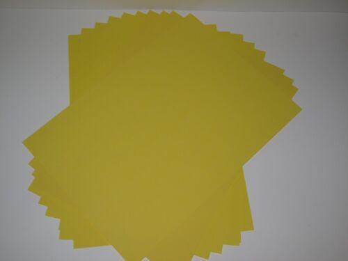 Tarjeta de artesanía amarillo oro 180gsm 30 X A5 para Cardmaking Scrapbooking Artesanía AM216