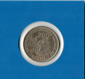Brasilien-200-Reis-1901-Kupfer-Nickel