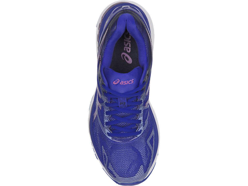 ASICS T750N.4832 GEL-NIMBUS 19 Wmn's Wmn's Wmn's (M) Blau lila Synthetic  Running schuhe 1c2c01